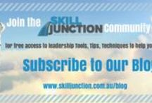 Blog Articles / Are you a Supervisor, New Manager or Woman in Leadership?  At Skill Junction our aim is to help you develop your leadership skills FAST so you can get results....  Our blog is one of the ways  to share tools, tips, techniques that will get you moving ahead.  Subscribe today.  Its easy - just go to http://skilljunction.com.au/blog and sign up ;)