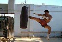Thai-Kickboxen / Bilder vom Training