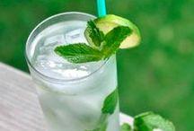 variety of drinks / variedad de tragos