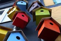 City Birdbox / Here we pin some ideas on how we can create better environment for birds in the urban landscape.
