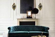 Chaises, fauteuils, canapés et assises / by Julie S