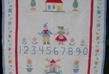 Crib Quilts...Antique & Vintage FOR SALE / Small quilts that may be either child themed or just smaller versions of full sized quilts. Ideal for wall hanging. http://www.antiquequilts.com/catalog6.htm       PHONE 802-867-5969