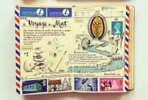 Cuaderno de viajes / Bocetos