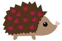 PODZIM ježci