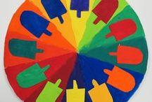 Kruhy barvy
