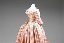 Gowns 1750-1795 / From Robe à la Française to Robe à l'anglaise