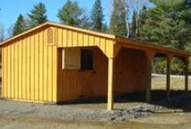 Horse Barns and Shelters
