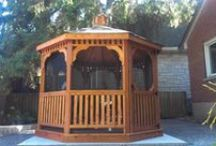 Gazebos and Pergolas / Gazebos and Pergolas by North Country Sheds. Visit us online for more info and pricing. NorthCountrySheds.com