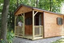 Cabins and Hunting Cabins / Cabins and Hunting Cabins by North Country Sheds. More information and pricing can be found online at NorthCountrySheds.com