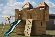Kids Backyard Play Sets / Backyard Playgrounds and Swing Sets by North Country Sheds.  Boat Play Sets, Castle Play Sets, Train Play Sets, Monster Truck Play Sets, Swing Sets and more...NorthCountrySheds.com