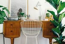 ◊ Büro ◊ / workplace inspiration // home decor // interior
