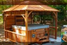 Gazebo Kits and Hot Tub Shelters / Check out our new line of Cedar Gazebos and Hot Tub Shelters - A perfect weekend project guaranteed to Impress!