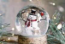 ★ Snow globes ★