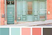 Colors / Color schemes, palettes, and combinations