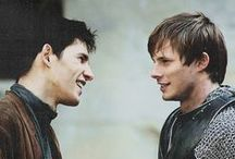 MERLIN!!!!! <3 / Love it more than life! It has been a privilege to have known you, young warlock...<3
