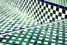 Pattern tiles & Carrelages / Pattern from tiles, motifs de carrelage