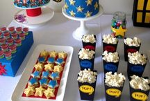 Superhero Party Ideas / From Batman to Spiderman to SuperEthan, you can find loads of inspiration for your superhero party here.