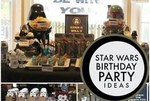 Star Wars Party & Craft Ideas / This board is full of inspiration for your Star Wars themed party and for loads of Star Wars Crafts.