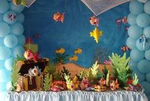 Mermaid/ Under the Sea Party Ideas / This board is full of inspiration for your mermaid or under the sea themed party.