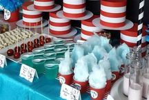 Dr. Seuss Party & Craft Inspiration / This board is full of inspiration for your Dr. Seuss themed party.