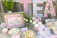 Tea Party Ideas / This board is full of inspiration for your Tea Party themed DIY party.