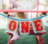 First Birthday Parties/Cake Smash / Cake Smash and First Birthday Party Inspiration