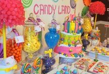Candyland Party Inspiration / This board is full of inspiration for your Candyland themed party.