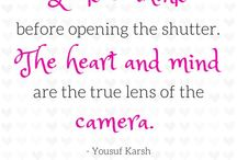 Photography Quotes / Photography Quotes, Inspiration, Support for Photographers and Photography Enthusiasts