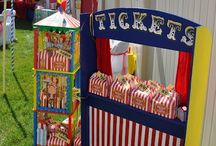 Circus/ Carnival Party Inspiration / This board is full of inspiration for your Circus themed party or event.