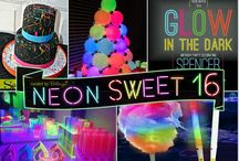 Neon Glow Party Inspiration / This board is full of inspiration for your next  Neon Glow Themed Party.