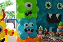 Monster Party Inspiration / This board is full of inspiration for your next monster themed party.