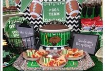 Superbowl Party Ideas / This board is full of inspiration for your Superbowl or Football Party.