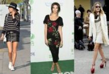 Weekly Celebrity Roundup / Here we display our handpicked selection of best dressed celebrities!