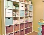 My Craft Room / More Pics: www.CardsByBecky.blogspot.com