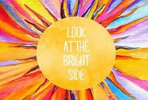 Bright Day Makers / Sometimes it's the little things... like a positive outlook and a great cup of coffee!