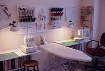 Studios / Craft / Sewing Rooms / by Beverly Geller