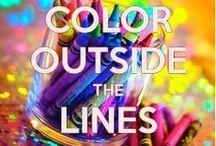 C O L O R      M Y      W O R L D / Make LIFE a rainbow :) / by OctoberSky14