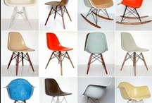 Eames chair+