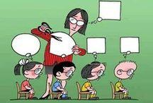 En el colegio / en el instituto / by Stéphanie Fizailne