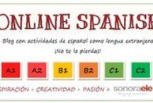 Blogs, páginas web para la enseñanza y el aprendizaje del español / by Stéphanie Fizailne