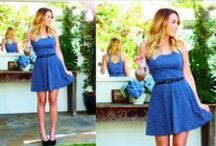 Dress ● Color (Blue)