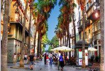 Málaga / Los rincones más bonitos de Málaga.
