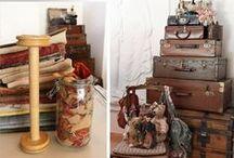 stockage , presentoires maison / chaque chose a sa place , une place pour chaque chose