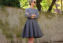 Fashion | Style / Fashion inspiration! Outfit posts and styling suggestions. Lots of gray and black for winter and pink for summer.