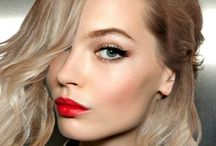 Makeup | Beauty / Makeup ideas and tutorials, beauty products I want to try. Lots of color and bright lipsticks!