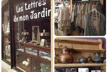 """les nouveautés de ma boutique """" les lettres de mon jardin """" a Pont l'Abbé 29120 2 quartier Vallou / …."""