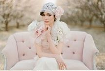 """Wedding Inspiration """"Vintage Dream"""" / Soft colors, shabby chic and old but nostalgic glam. This is your style? So you might start dreaming."""