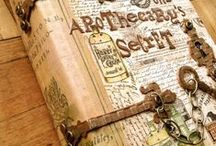 Journal Ideas / Images of creative journals to recreate for yourself