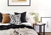 HOME//BEDROOM / Beds, Shelves, Colours.
