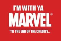 MCU / I'm with you 'till the end of the credits.